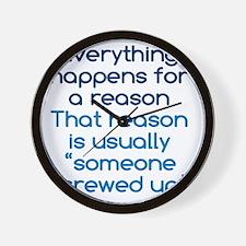 reason1 Wall Clock