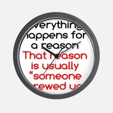 reason3 Wall Clock