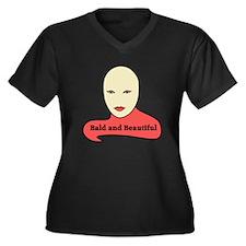 Bald and Beautiful v1.1 Plus Size T-Shirt