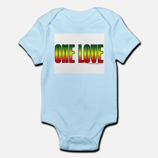 One Love Infant Creeper