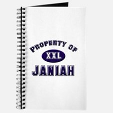 Property of janiah Journal
