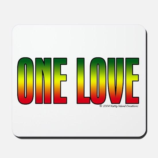 One Love Mousepad