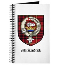 MacKendrick Clan Crest Tartan Journal