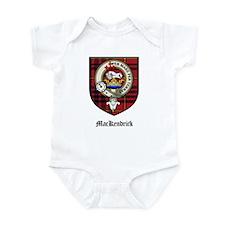 MacKendrick Clan Crest Tartan Infant Bodysuit