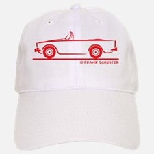67 Alpine V_red Baseball Baseball Cap