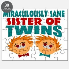 Sane sister of twins Puzzle