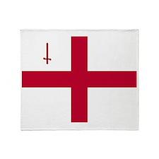 PC English Flag - City of London Fla Throw Blanket