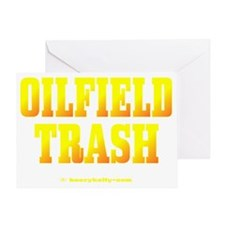 Oilfield Trashbv A4 using Greeting Card
