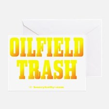 Oilfield Trashbv A4 using Greeting Card