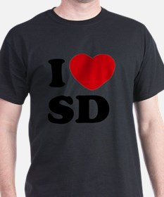 I Love SD Large T-Shirt