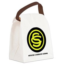 OFFICER CANDIDATE SCHOOL WITH TEX Canvas Lunch Bag