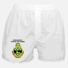 DUI-INTELLIGENCE CENTER AND SCHOOL WI Boxer Shorts