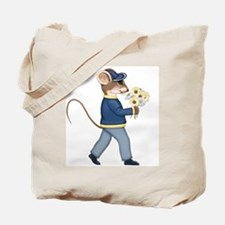 Daisy Bouquet Boy Mouse Tote Bag