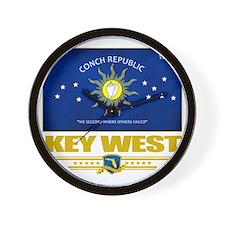 Key West (Flag 10) Wall Clock