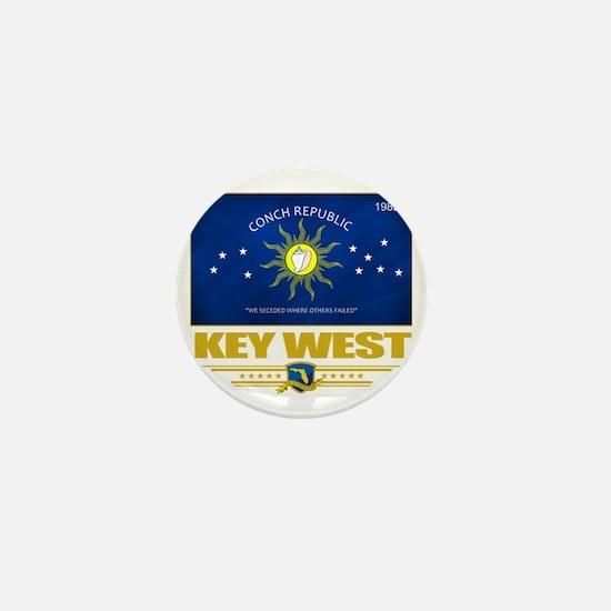 Key West (Flag 10) Mini Button