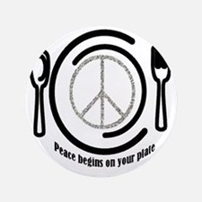 "peaceplate 3.5"" Button"