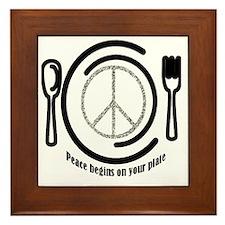 peaceplate Framed Tile