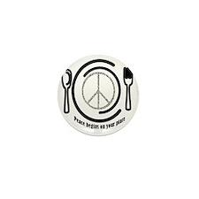 peaceplate Mini Button