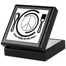 peaceplate Keepsake Box