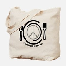 peaceplate Tote Bag
