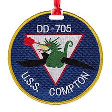 compton patch Ornament