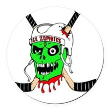 icezombiesfinal Round Car Magnet