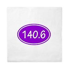 Purple 140.6 Oval Queen Duvet