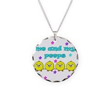 ME AND MY PEEPS - L TEAL Necklace