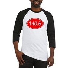 Red 140.6 Oval Baseball Jersey