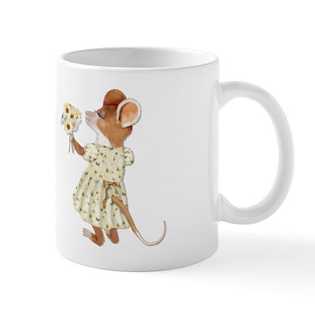Daisy Bouquet Mouse Mug