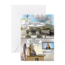 SanOnfreNuclear Greeting Card