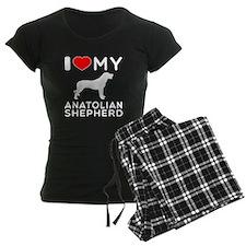 I love My Wire Fox Terrier Pajamas