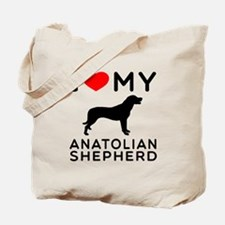 I love My Wire Fox Terrier Tote Bag