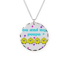 ME AND MY PEEPS - D TEAL Necklace