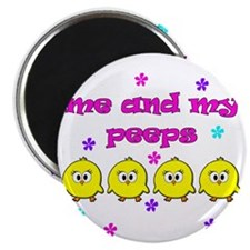 ME AND MY PEEPS - L PINK Magnet