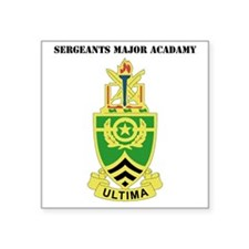"""DUI-SERGEANTSDUI - Sergeant Square Sticker 3"""" x 3"""""""