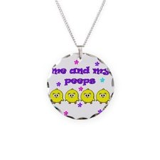 ME AND MY PEEPS - L PURPLE Necklace