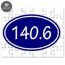 Blue 140.6 Oval Puzzle