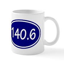 Blue 140.6 Oval Mugs
