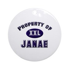 Property of janae Ornament (Round)