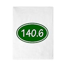 Green 140.6 Oval Twin Duvet