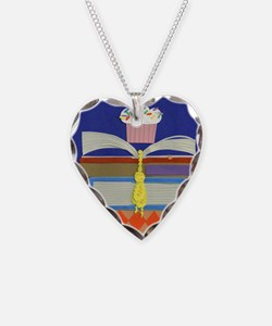 moms birthday library 020711  Necklace Heart Charm