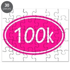 Pink 100k Oval Puzzle