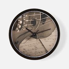 alteredCurves_16x20 Wall Clock