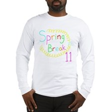 Spring Break 11 Long Sleeve T-Shirt