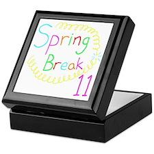Spring Break 11 Keepsake Box
