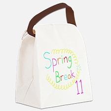 Spring Break 11 Canvas Lunch Bag