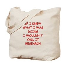 research Tote Bag