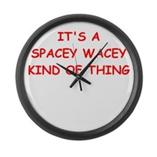 science fiction Large Wall Clock