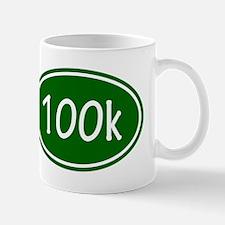 Green 100k Oval Mugs